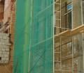 Фасадная сетка для строительных лесов